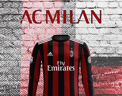 Milan kit design 2017-18