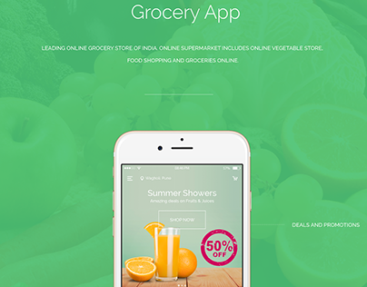 Leading Online Grocery Store - India