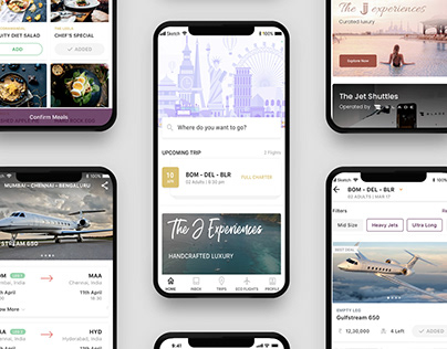 Mobile App for Jet Uber