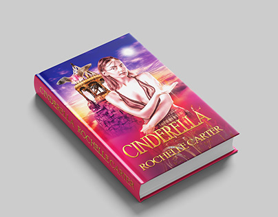 cinderella book cover design