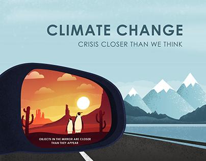 CLIMATE CHANGE POSTER DESIGN