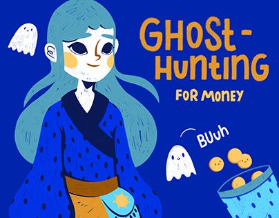 Ghost Hunting / Illustration