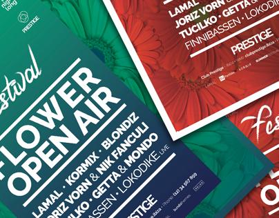 Summer Event Flyer | Poster PSD Template