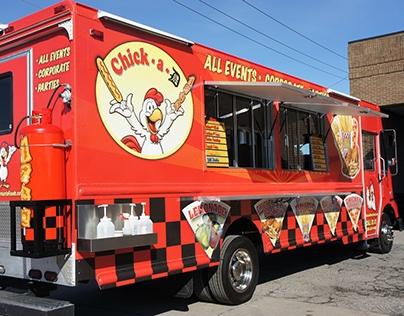 Mercurio Food Specialties Truck Design