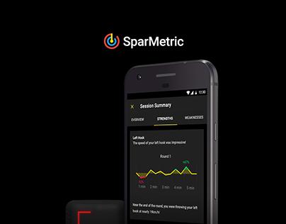 App Design — SparMetric