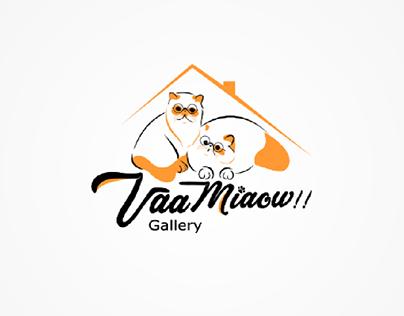 logo petshop Vaa Miaow Gallery!!
