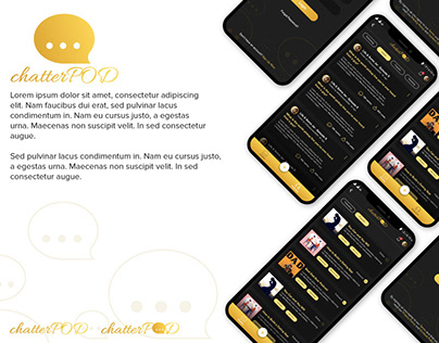 ChatterPOD - Social App