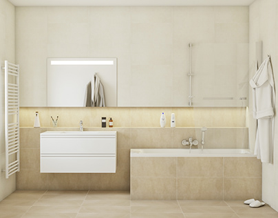 Bathroom renders for catalogue #keratiles #darlene