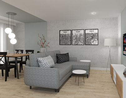 3 in 1 - Open space for family
