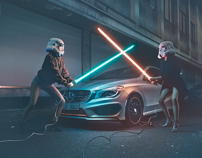 "MercedesBenz / ""Don´t Follow The Dark Side"""