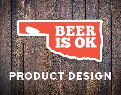 Beer is OK product design samples