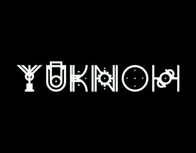 YUKNOH FREE FONT
