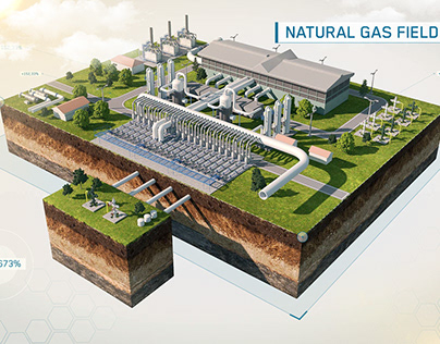 Natural Gas Field