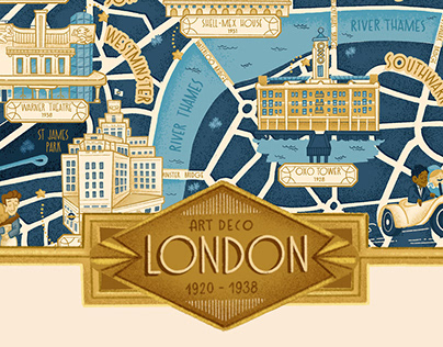 Art Deco London 1920 - 1938