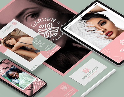 Spa Garden - Branding & Identidade Visual