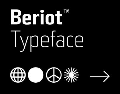 Beriot™ Typeface