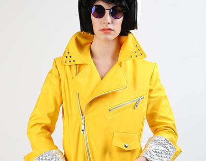 'Bad Hair Day' Biker Jacket