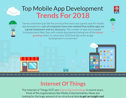 Top Mobile App Development Trends For 2018