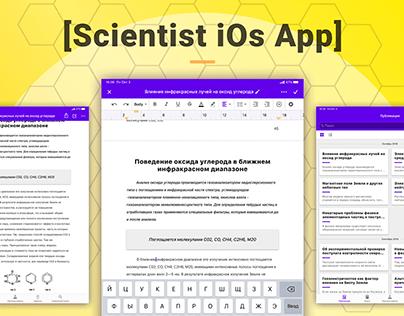 Scientist iOs App