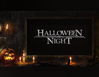 Halloween Night - Frame Spot