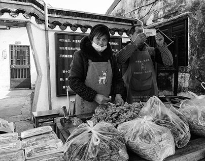 Street Photography in Shaoxing, China