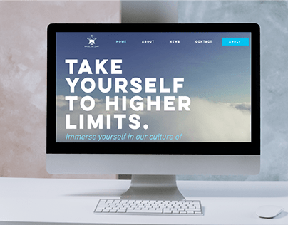 Website Redesign for Sky's The Limit│Marketing Agency