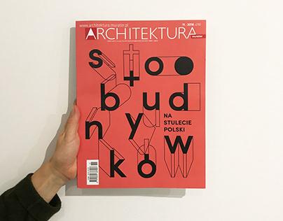 ARCHITEKTURA MURATOR / cover illustration and animation