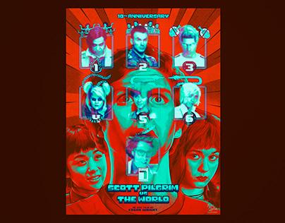 SCOTT PILGRIM vs THE WORLD - Alternative movie poster