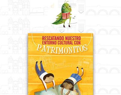 Ilustraciones: Patrimonitos, Oaxaca, México