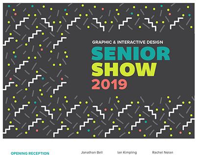 2019 Graphic & Interactive Design Senior Show