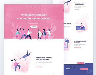 Community empowerment website