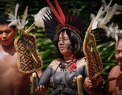 Ritual da Tukandeira Sateré Mawé