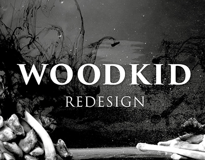 WOODKID ALBUM REDESIGN