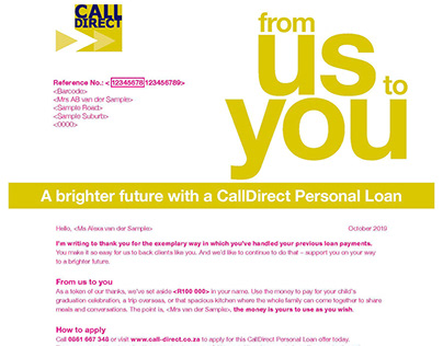 Copywriting & Translation - Direct Marketing CallDirect