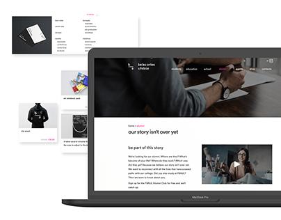 Service design - FBAUL website redesign