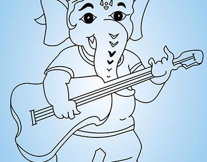 Vinayagar Projects Photos Videos Logos Illustrations And Branding On Behance