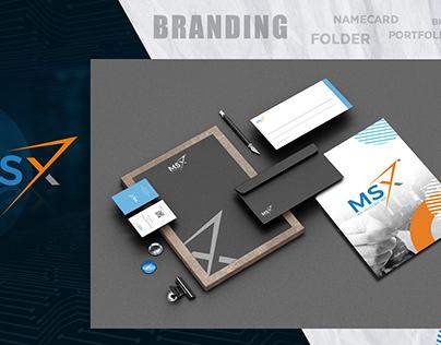 MSX:Logo & Brand Identity