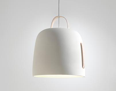 Cowbell lamp // Plussmi