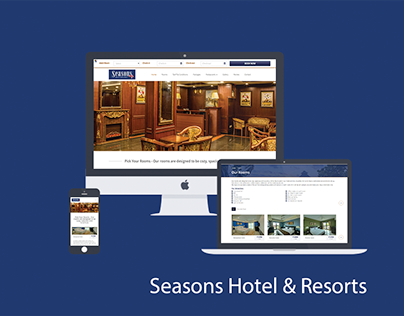 Seasons Hotel & Resort Responsive Website