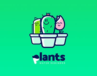 Plants- Water Reminder App