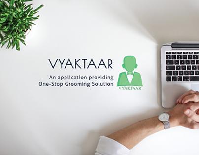 Vyaktaar - UX/UI Project