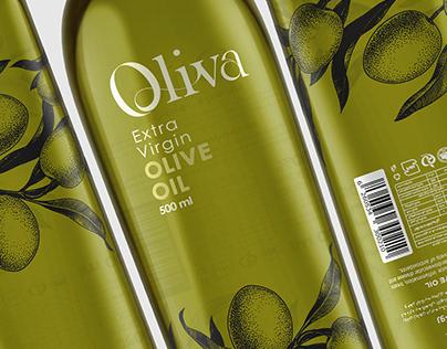 Oliva Olive Oil Packaging Design