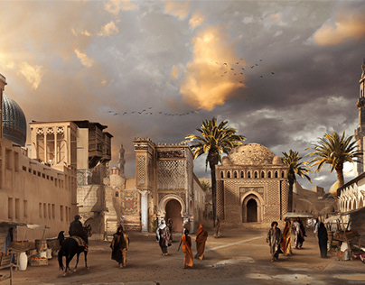 Middle-Eastern Concept Art