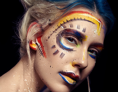 Urban Decay x Basquiat Inspired Beauty Makeup