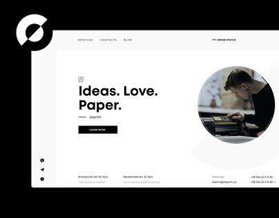 24print — Website