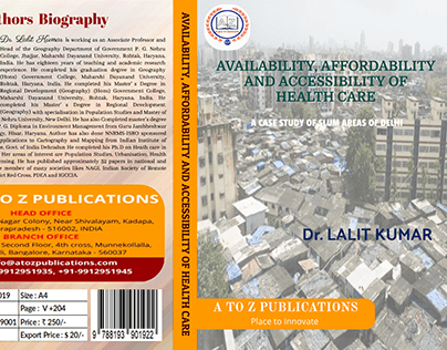 Book Front Page Design