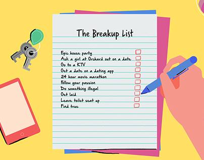 The Breakup List