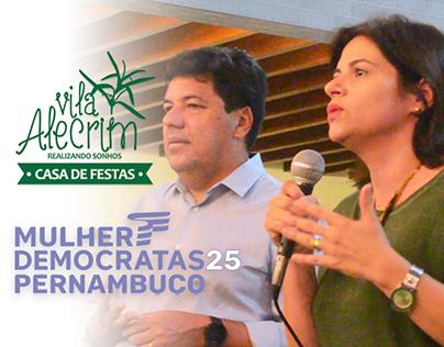 Vila Alecrim - Encontro do Partido Mulheres Democratas