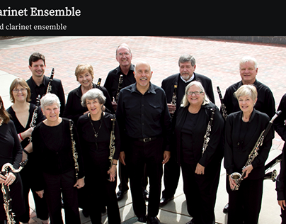Asheville Clarinet Ensemble - Website Development
