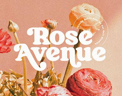 Rose Avenue Font